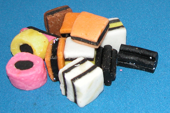 English Bassets (Licorice allsorts)