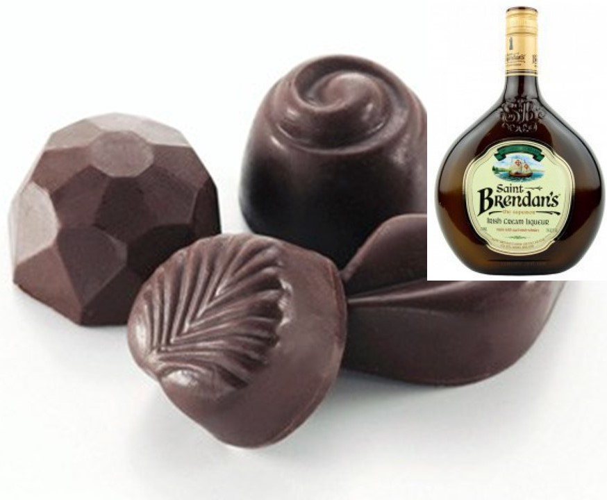 Irish Cream Liquor Truffles