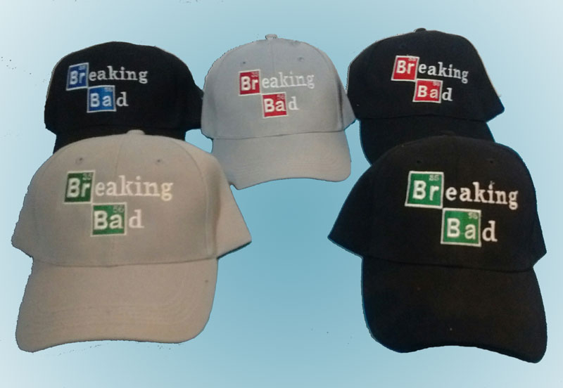 Embroidered Breaking Bad baseball caps