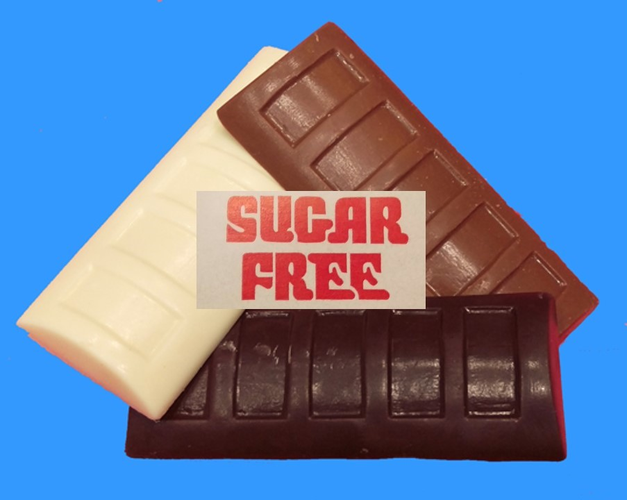 Sugar free Chocolate Bars (homemade) sold by the pair