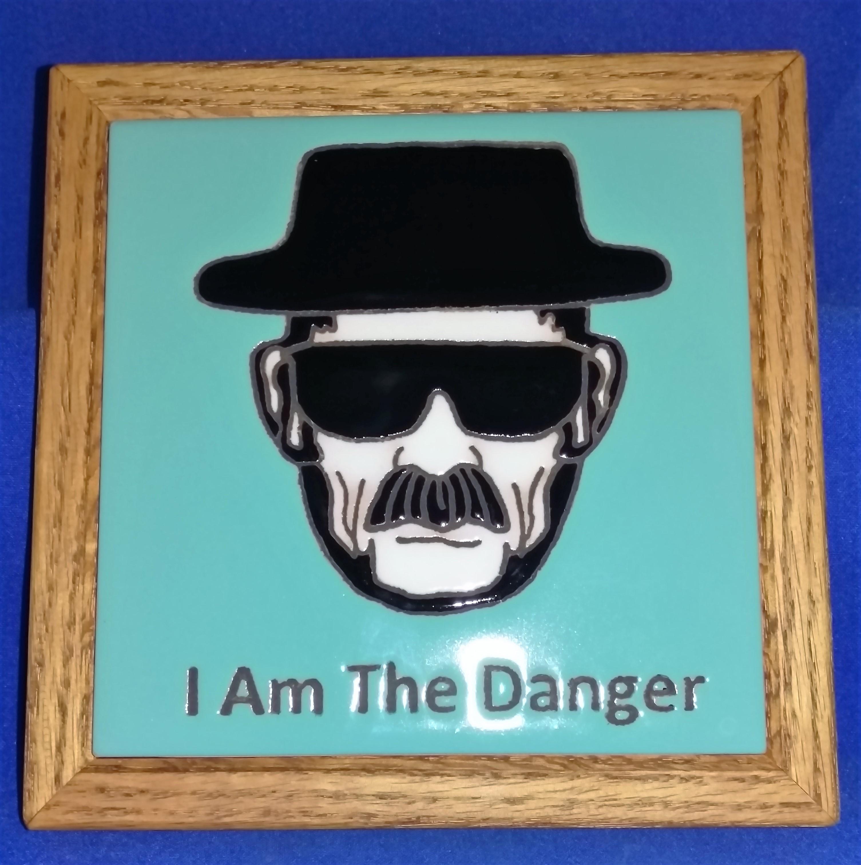 Heisenberg Tiles (framed or unframed)