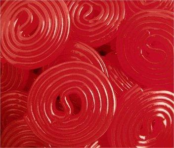 Strawberry Licorice Wheels
