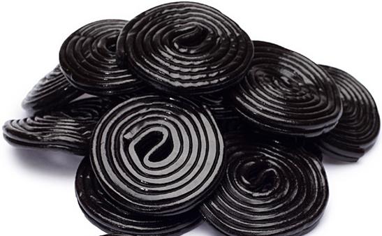 Licorice Wheels (Black)