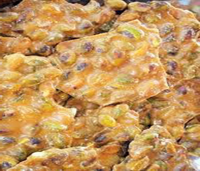 Pistachio Brittle (A Southwest Favorite)