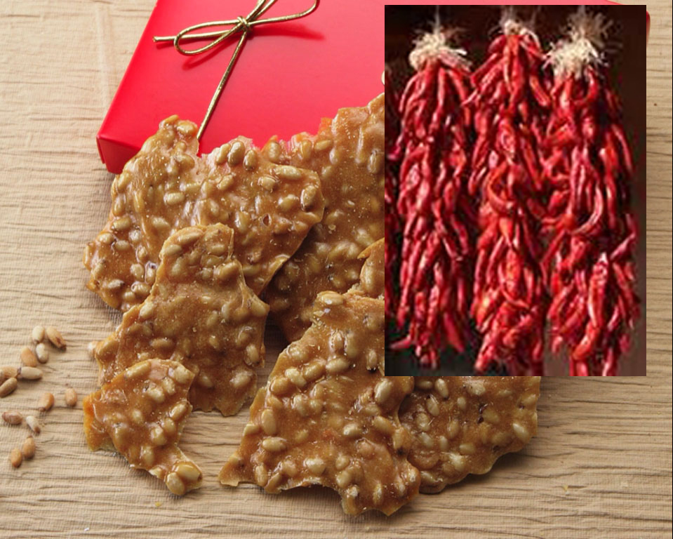 Red Chile Piñon Brittle